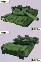 Main battle Heavy tank Render by MSgtHaas