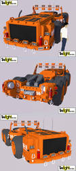 Heavy Equipment Puller by MSgtHaas