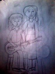 Brian and Chrissie by AndressaNerdMuniz