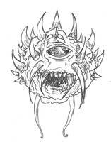 Doom Cacodemon by Taiya001