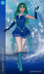Sailor Neptune by Taiya001