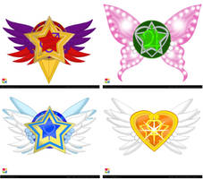 EMCCV Inner Senshi Brooch Ideas by Taiya001