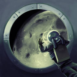The Traveler - Porthole by azraelengel
