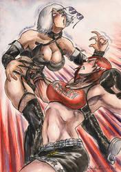 Mila VS Christie by SoulEaterSaku90