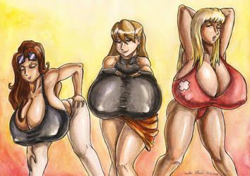 BlackKnife12 Girls by SoulEaterSaku90