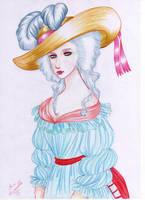 Marie Antoinette by IslaAntonello