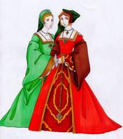 Tudor Fashion col by IslaAntonello