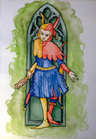 Gothic Jester by IslaAntonello