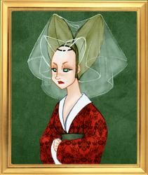 1450 LADY by IslaAntonello