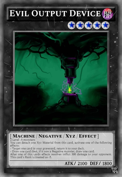 EvilOutputDevice by inkescher
