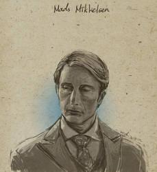 Mads Mikkelsen by mick347