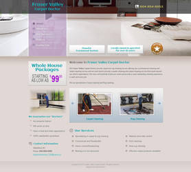 Fraser Valley Carpeting Template by webdeviant