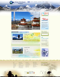 Great Himalayan Holidays by webdeviant