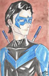 Nightwing by CristianGarro