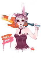 Battle Bunny Riven by xcapriccino