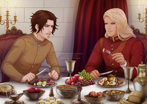 Lunch of the rivals by nominee84
