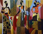 Trio de Africanas by isabel25