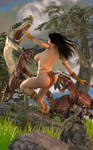 PELLUCIDAR Cavegirl by Iggybutz