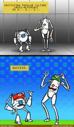 Portal 2 - Co-Op Bros by Raptorix