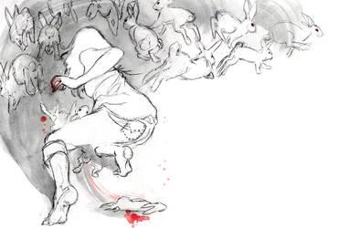 Alice Dreams of Rabbits by Arisashi