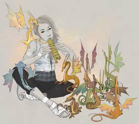 Menolly by Arisashi