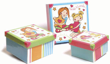 box kit Carlota e Loreta by crischinchila