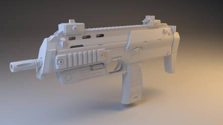 MP7 Render by Kn3chtRuprecht