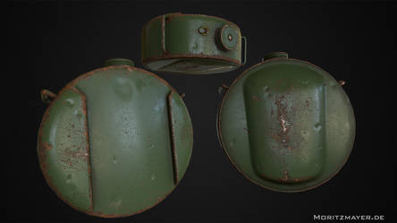 Browning M1917 Water Canteen by Kn3chtRuprecht