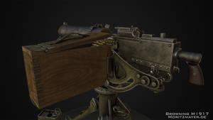 Browning M1917 by Kn3chtRuprecht