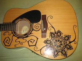 My guitar - less than three by Hforheroin