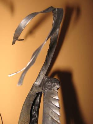 Jackalope -antler detail by Hforheroin