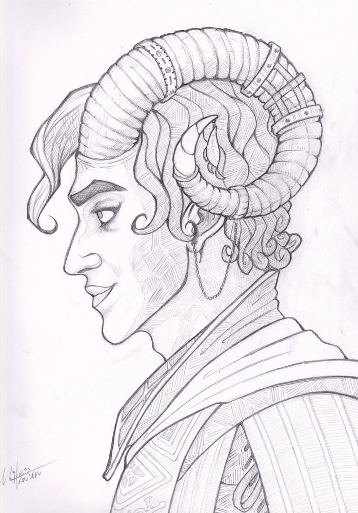 Critical Role - Mollymauk by Lunapocalypse