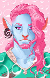 Caduceus - Bubblegum Cleric by Lunapocalypse