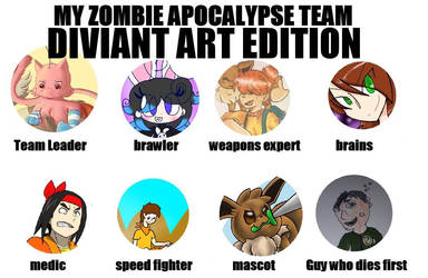my survival group (da edition) by Fabikatchukoh