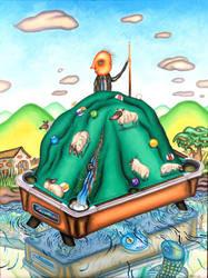 Pool hill Shepherd by marcelflisiuk