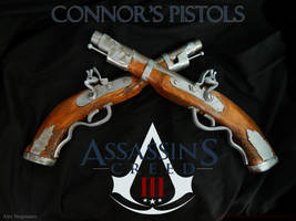 Assassins Creed III Connor Pistols by stegosauro