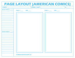 Comic Layout Page - American by FutureshockComics
