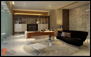 Living room, Pangandaran by cuanz