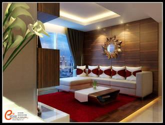 Living room V2 by cuanz