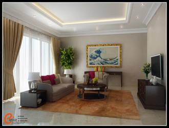 Living room Blossom by cuanz