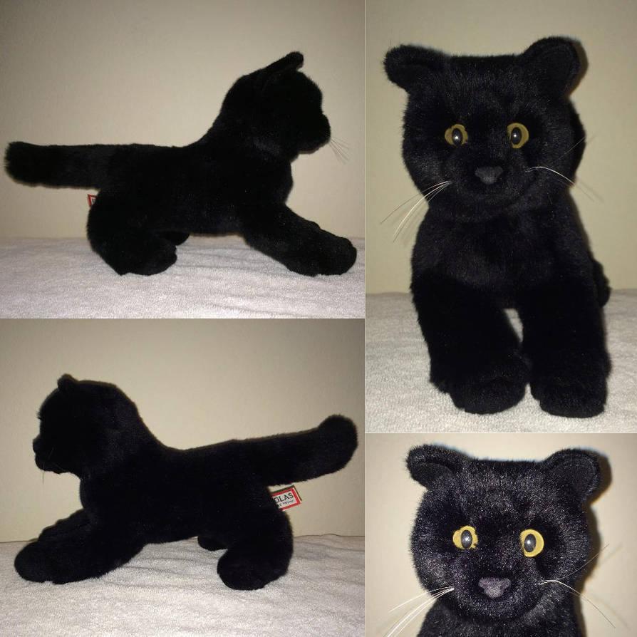 Douglas Cuddle Toys Stella Black Cat By Webkinzsignature572 On