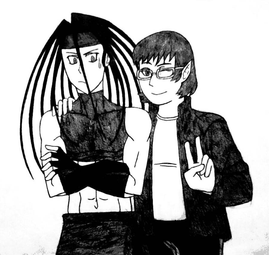 Envy Meets Ashley W (thedragonlover95) by 2gredvisions