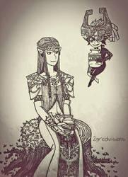 Lon Lon Princesses by 2gredvisions