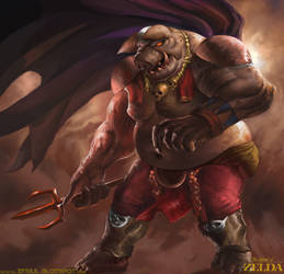 Classic Ganon by Zesiul