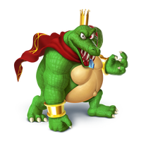 King K. Rool Transparent by Zesiul