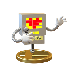 Mettaton Trophy Smashified by Zesiul