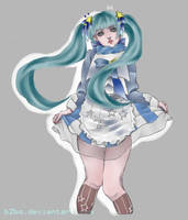 Fan Art Snow Miku 2015 by B2BQ