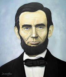 Abraham Lincoln by barneybluepants