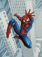 Spider-Man by barneybluepants