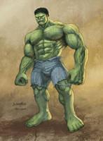 The Hulk -2 by barneybluepants